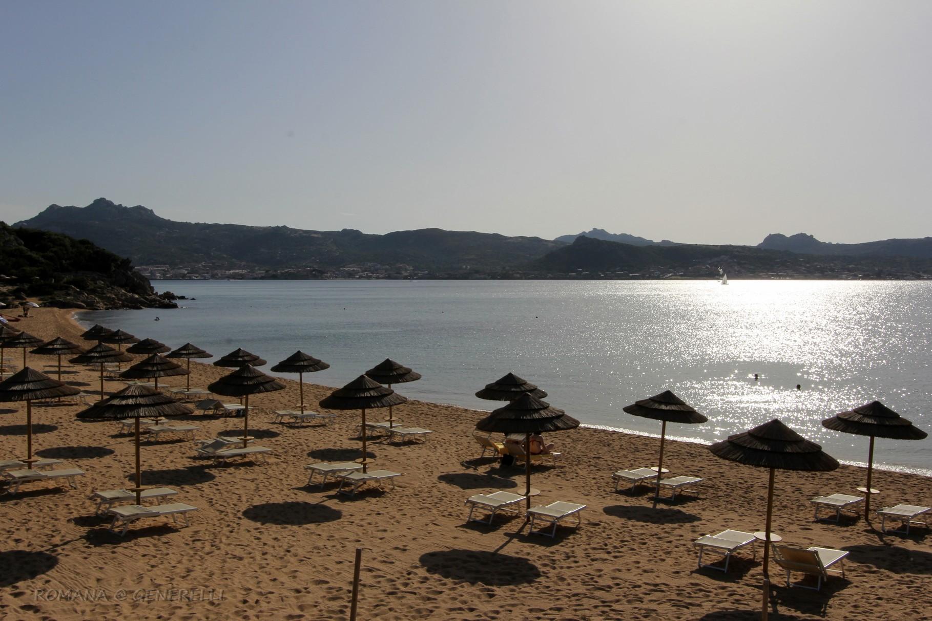 Spiaggetta privata del ristorante
