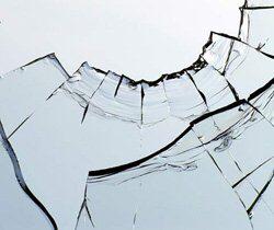 Remplacement vitre cassée