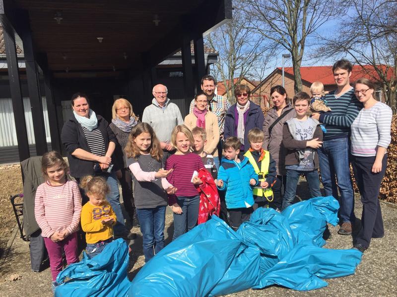 Aktion saubere Landschaft Gemeinde Diekholzen 2017