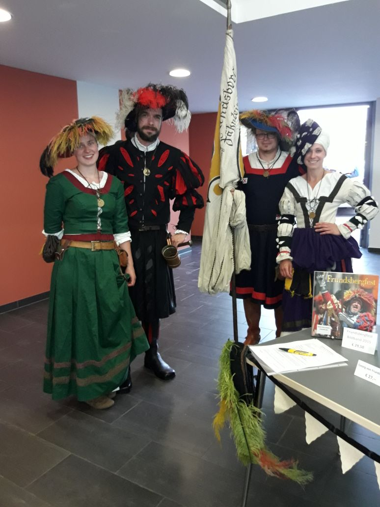 """25.04.18: Neubürgerempfang im Forum """"Das Fähnlein stellt sich vor!"""""""