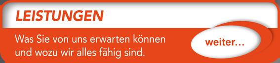 """Button verlinkt zu """"Leistungen"""" der Uttendorf Bedachungen GmbH."""