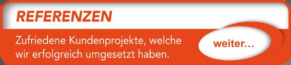 """Button verlinkt zu """"Referenzen"""" der Uttendorf Bedachungen GmbH."""
