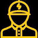 Stellenangebot als Elektriker im Bereich Elektroanlagen.