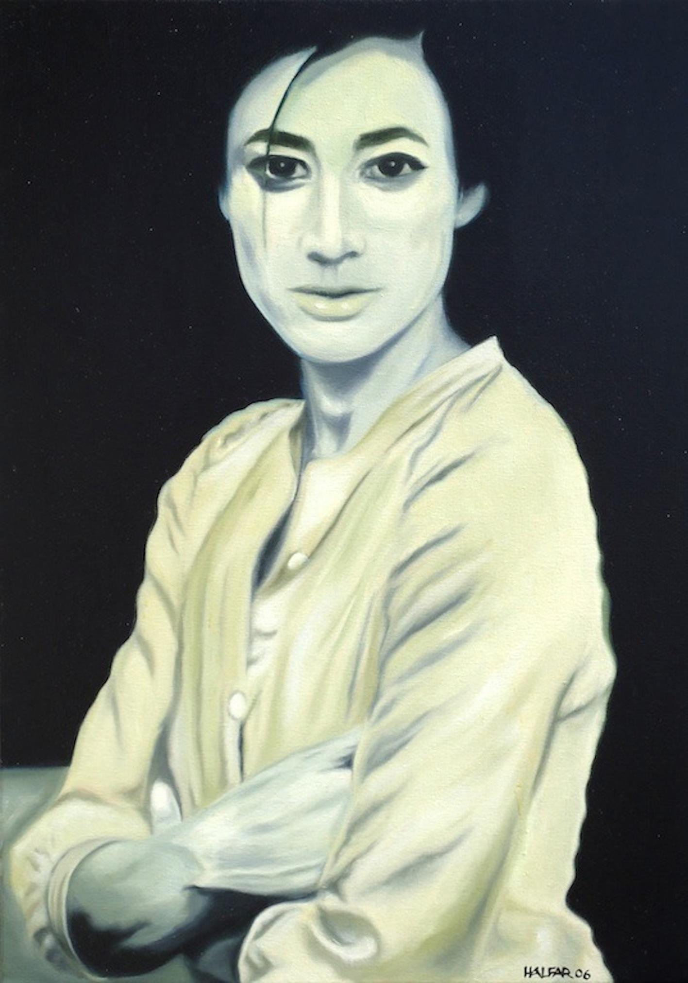 ' Chan Liao ' Öl a. LW, 60 x 40 cm, 2006