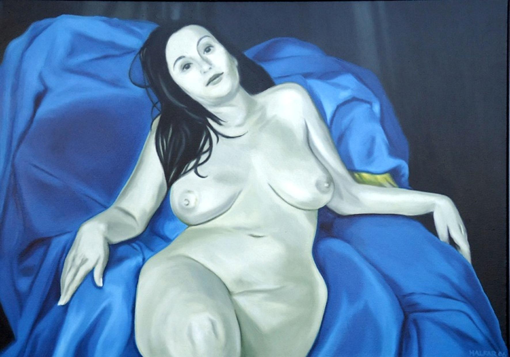 ' Blaue Stunde ' Öl a. LW, ca. 40 x 60 cm, 2006