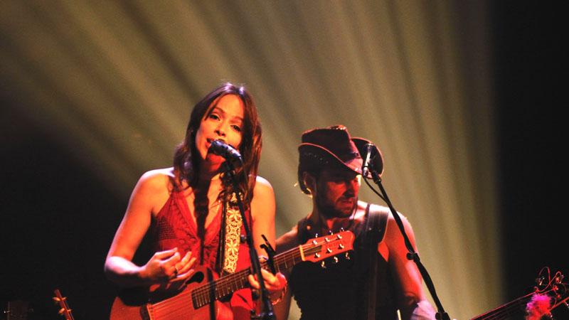 Amélie Veille pour le lancement de son album