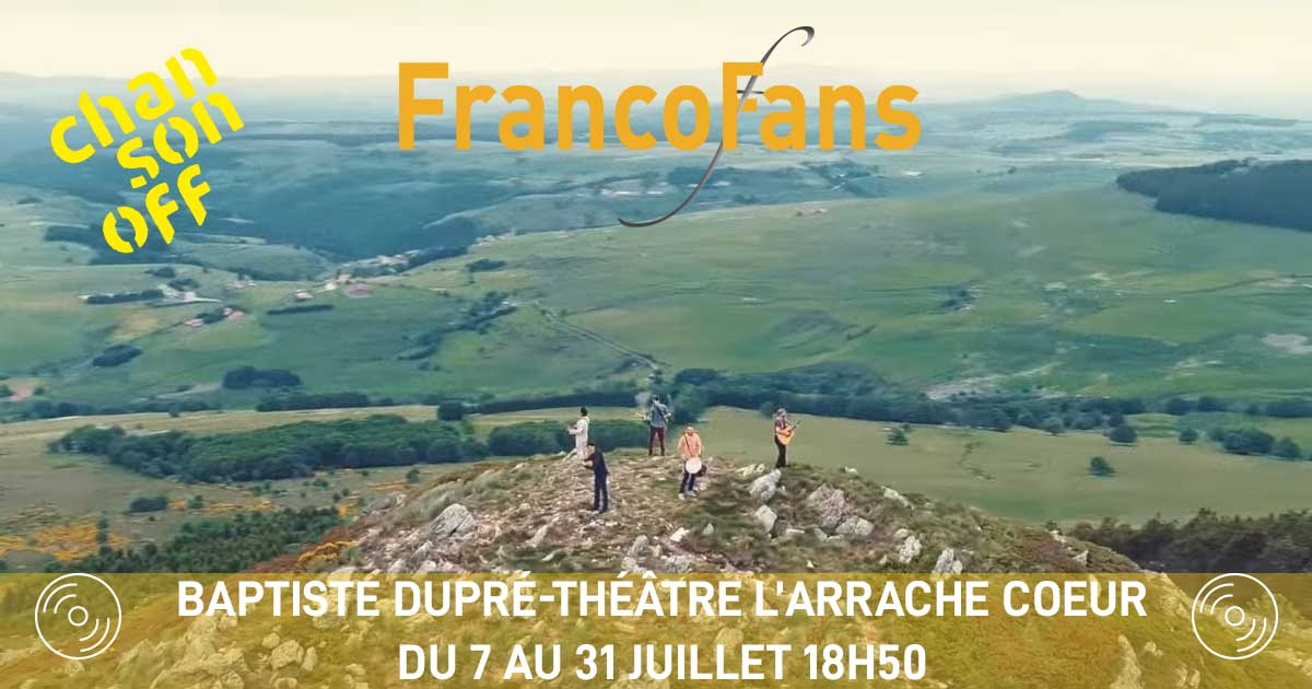 [live] Chanson Off en Avignon