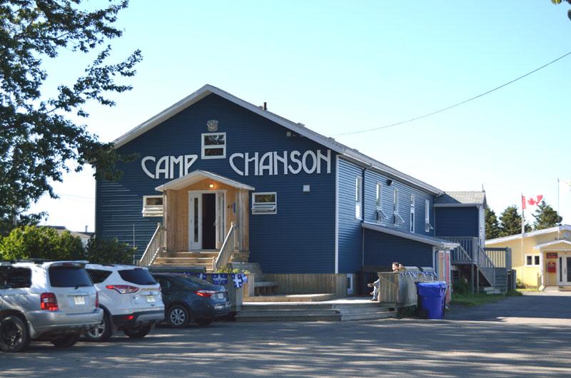 Le Camp Chanson, autre lieu du festival...
