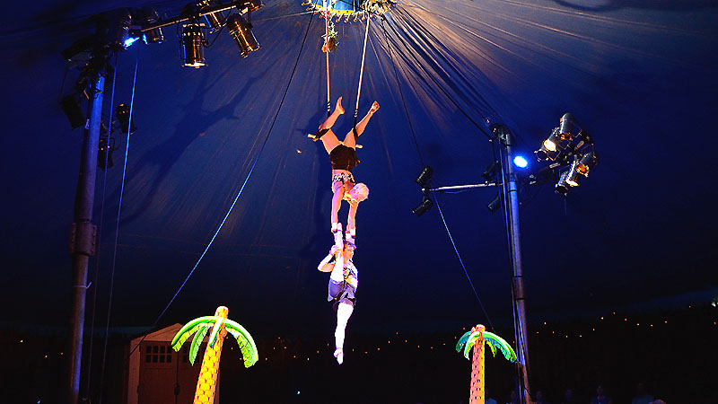 La compagnie Vague de Cirque