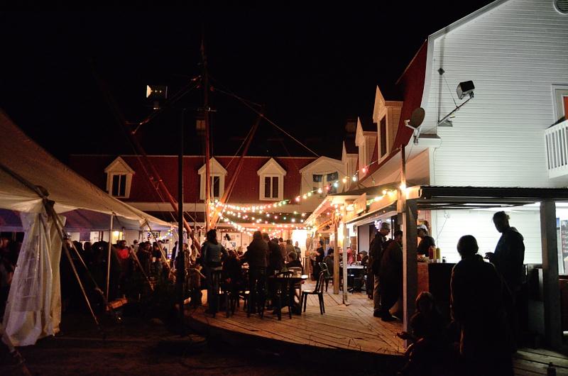 L'auberge de jeunesse de Tadoussac pour des fins de soirées festives