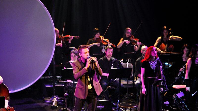 Alexandre Désilets en orchestral pour le lancement de son disque Windigo