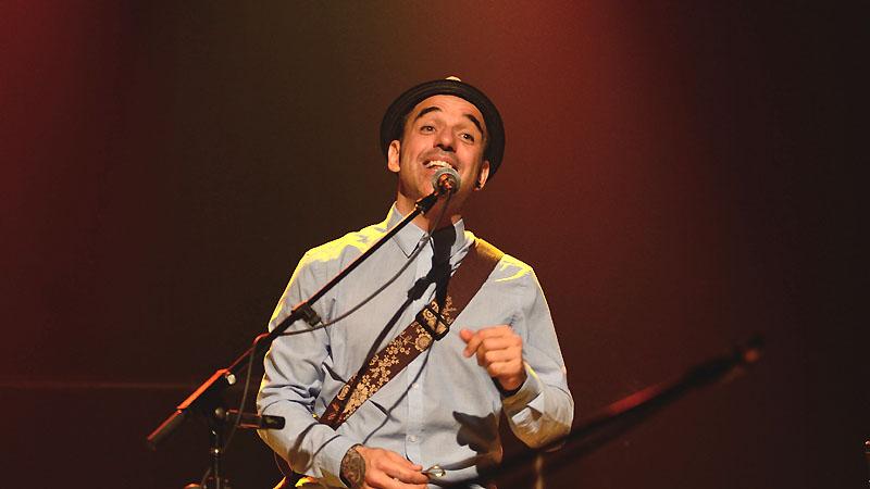 Dominic Desrochers, le chanteur de Bon Débarras