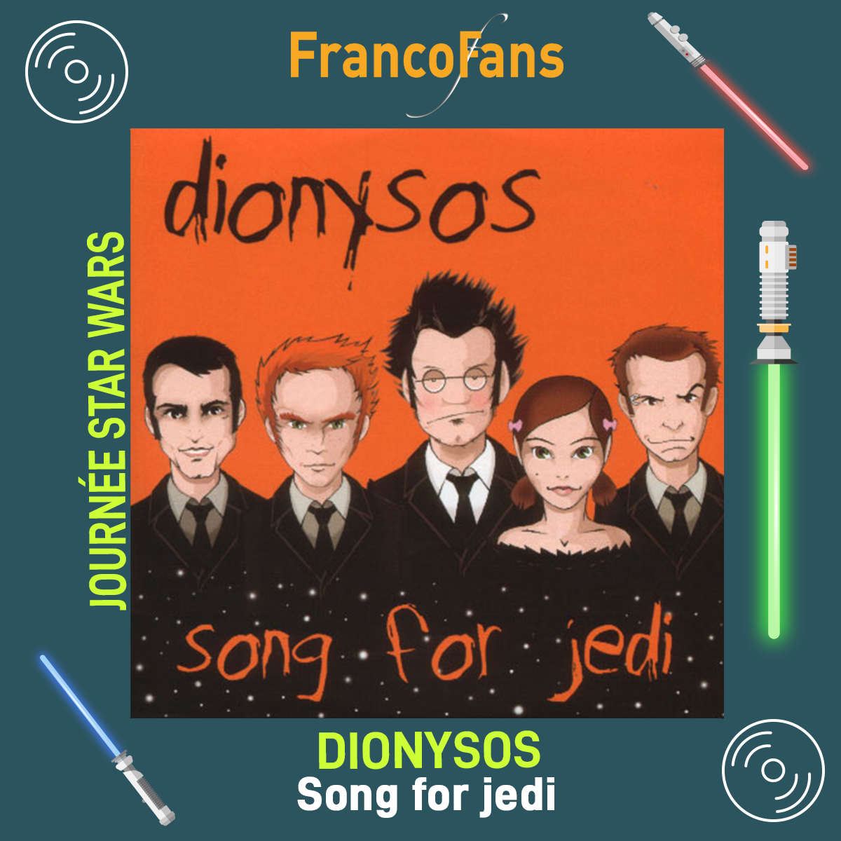 [Journée Star Wars] Dionysos - Song for a jedi