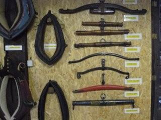 Colliers et pièces d'attelage