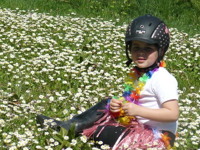 Quel paisir, même les enfants ont envie d'herbe et de fleurs