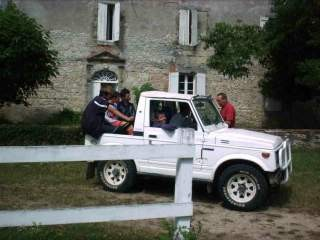 La voiture de Pascal, indispensable pour les pique nique et autres petits transports
