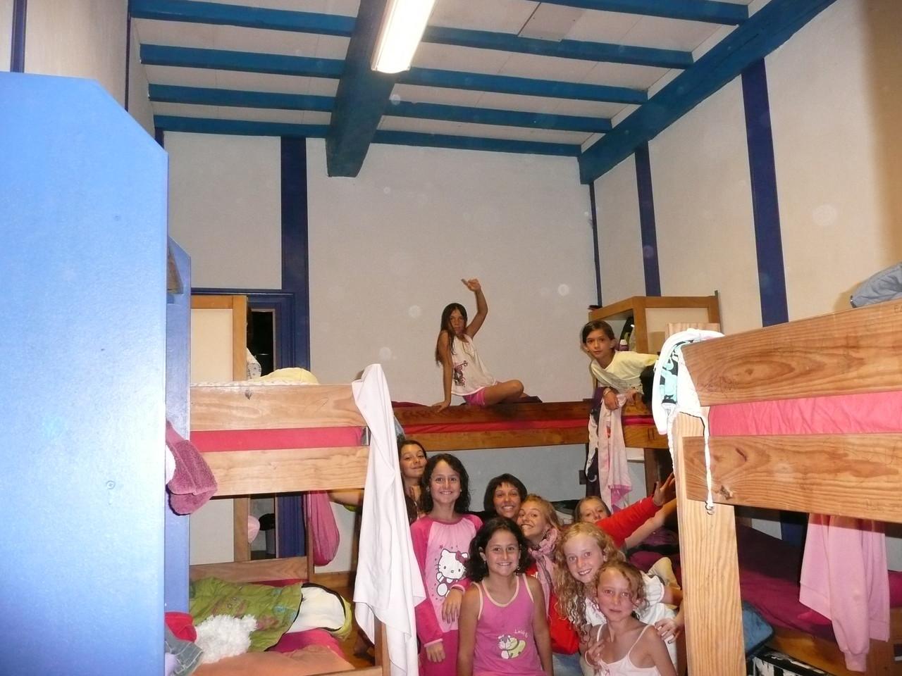 La chambre bleue dans la grande maison