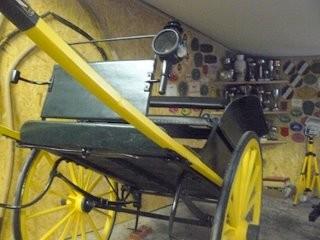 Charette anglaise, très utilisée partout jusqu'à la guerre de 14, et même plus tard