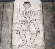 センが描かれている石板