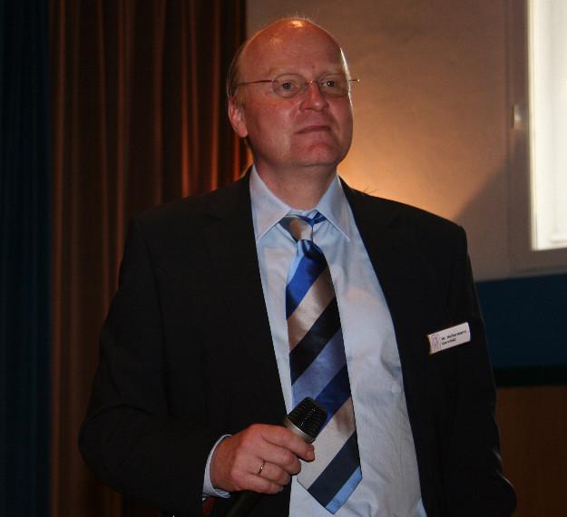 Schirmherr Werner Holtermann, Facharzt für Urologie, Rhön-Klinik Gersfeld