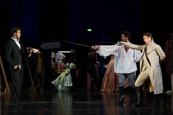 Guglielmo bei den Bregenzer Festspielen ( (c) Karl Forster)