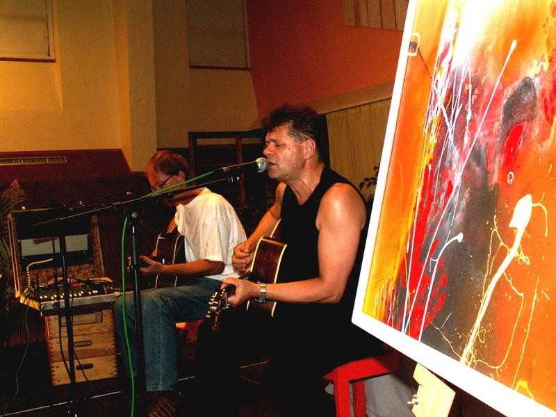 Konzert mit Hooch und Fred