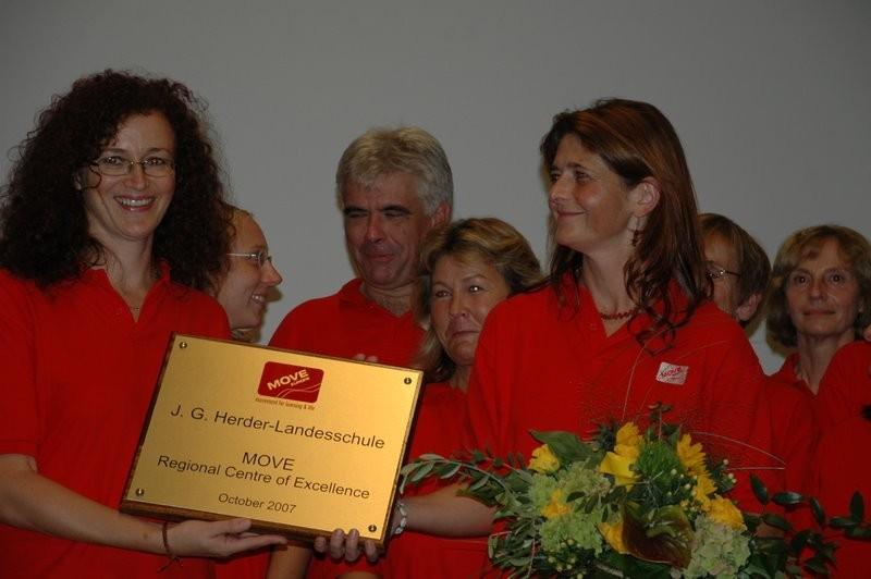 Auszeichnung zum MOVE-Regional-Center of Excellence