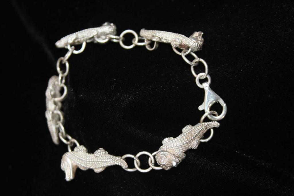 Armband mit Krokodile