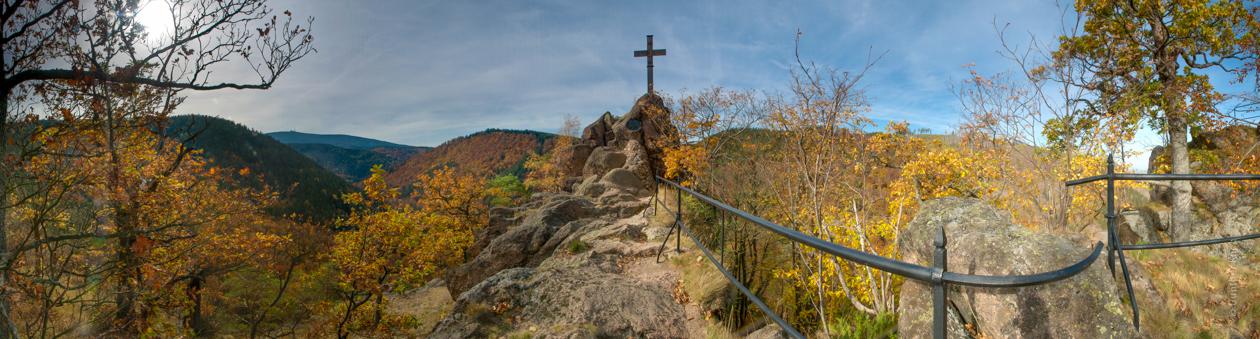 Berge, Felsen und Täler: Ilsestein