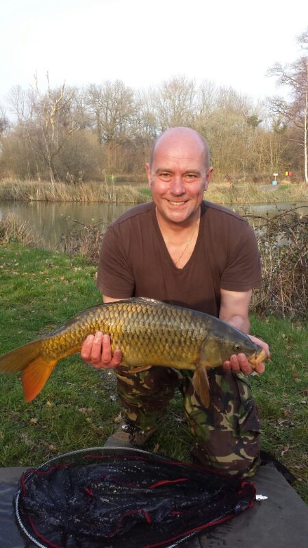 First timer Paul's golden coloured Common (Mar 2014)