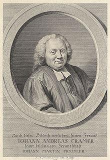 Johann Andreas Cramer (1723 - 1788)