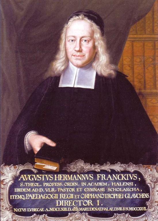 August Hermann Francke (1633 - 1727)