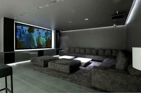 Installation salle de cinéma privée au Maroc