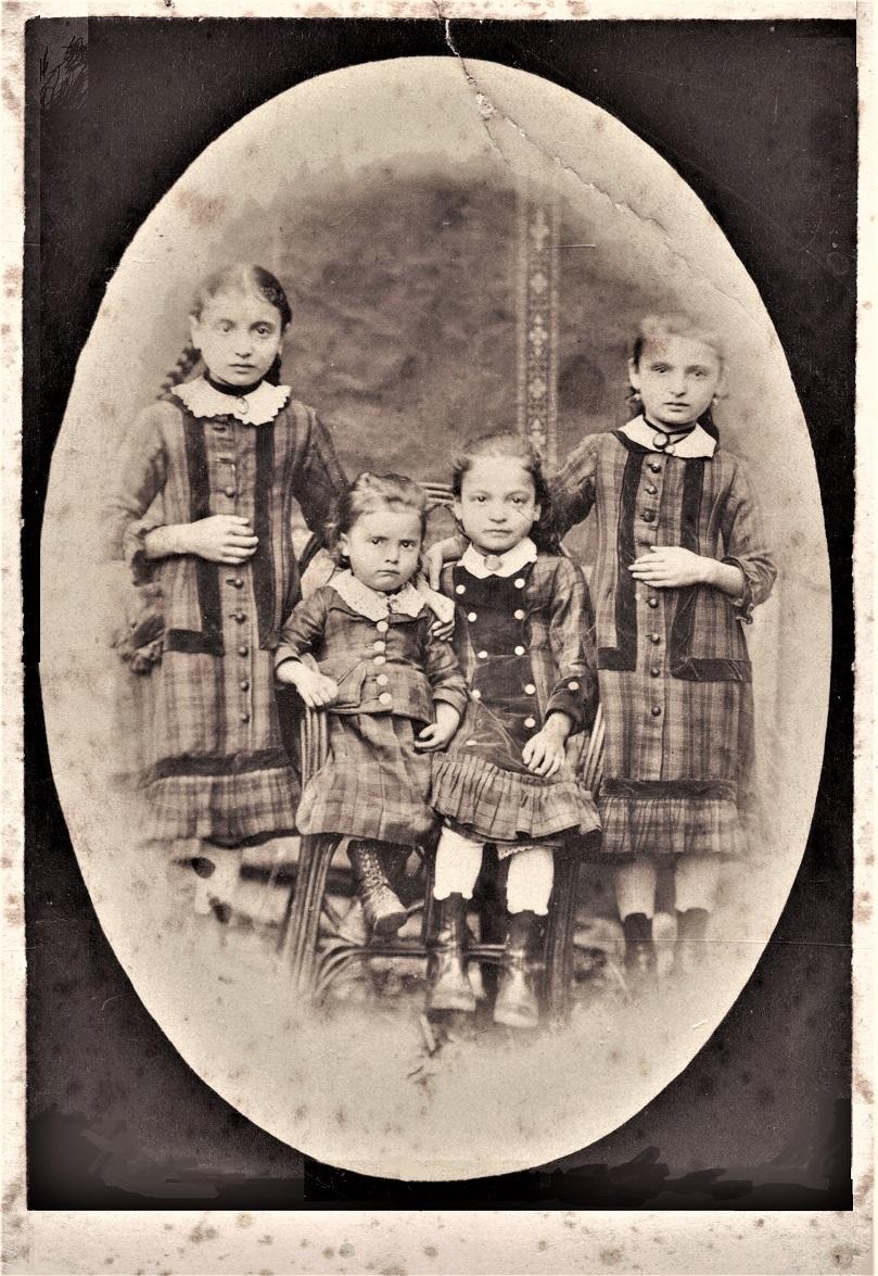 Die Schwestern Strauss um 1883
