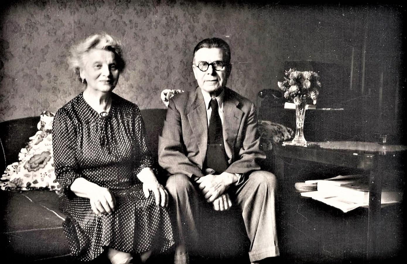 Juliana und Karl Brennicke um 1955