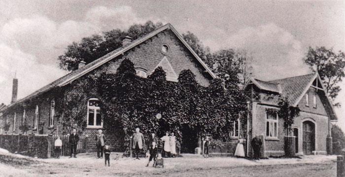 Humpe Saal, 1916