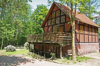 Das Jugendhaus Henckemühle in Heiligenloh