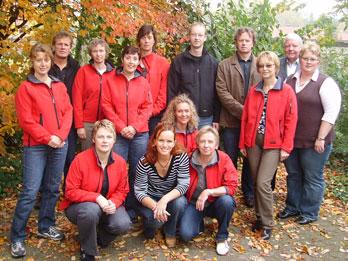Übungsleiter und Vorstand des Turnvereins Heiligenloh (2009)