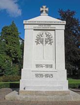 Ehrenmal auf dem Friedhof