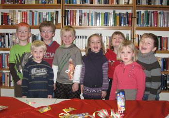 Kindergeburtstag in der Bücherei, Fotos: © Sabine Groß