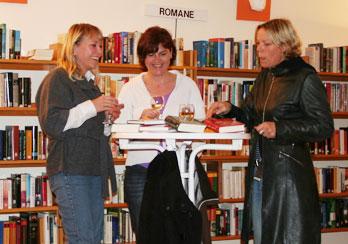 Teilnehmerinnen beim Bücherherbst 2009, Fotos: © Sabine Groß