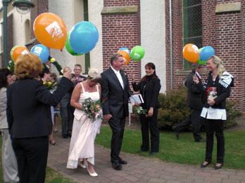 Hochzeit eines Mitglieds