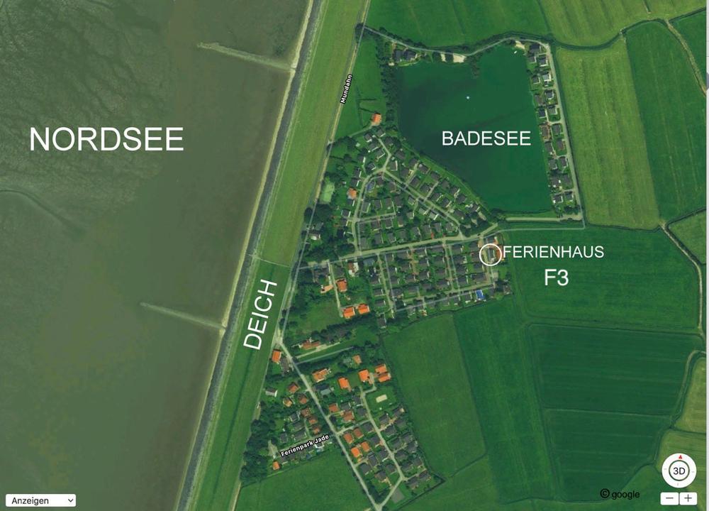 Ferienhaus Scholle F3 -Lageplan-