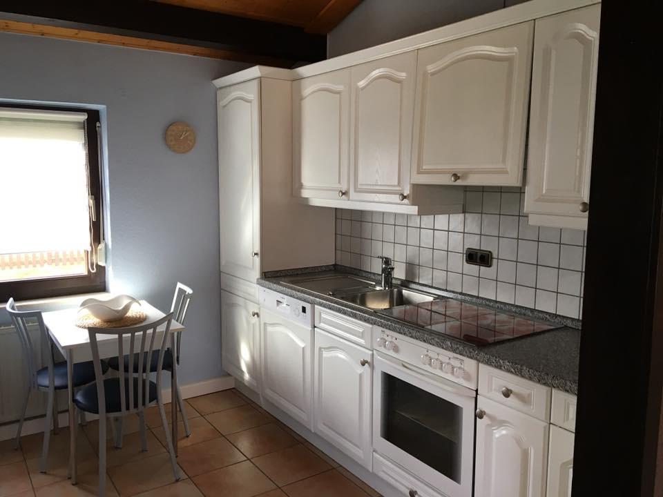 Ferienhaus Scholle F3 -Küche-