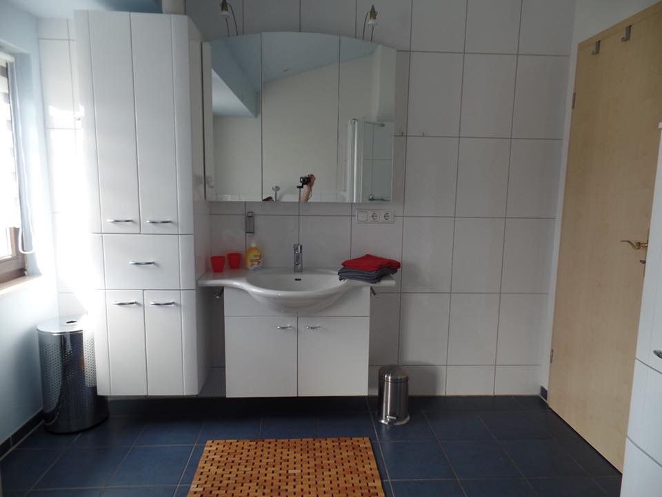 Ferienhaus Scholle F3 -Bad-