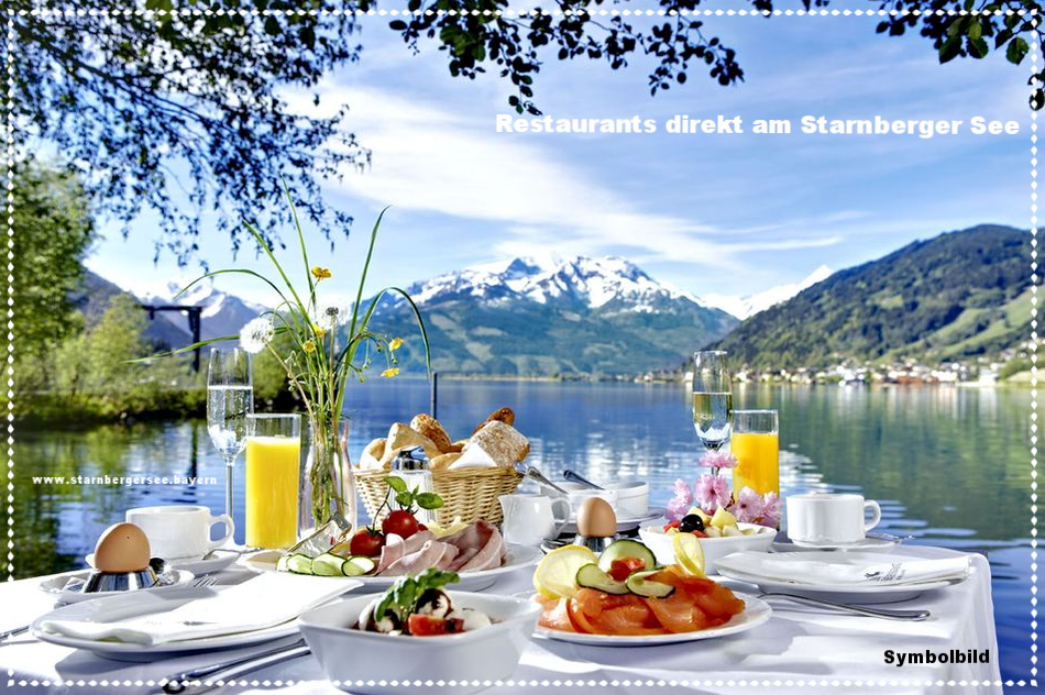 Restaurants direkt am Starnberger See