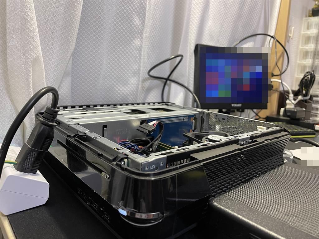 【持込修理】Dell ALIENWARE X51 R2 が起動しない!内部放電&メモリの抜き差しにて正常起動しました。