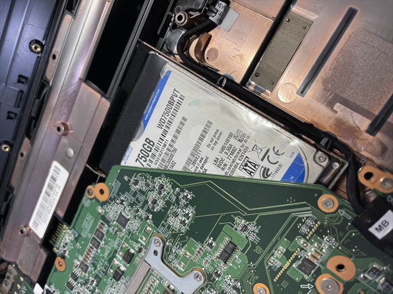 【持込修理】土岐市のお客様より 水没して基盤が故障した NEC PC-LS550ES6R 15.6型ノートパソコンのデータ救出作業のご依頼をいただきました