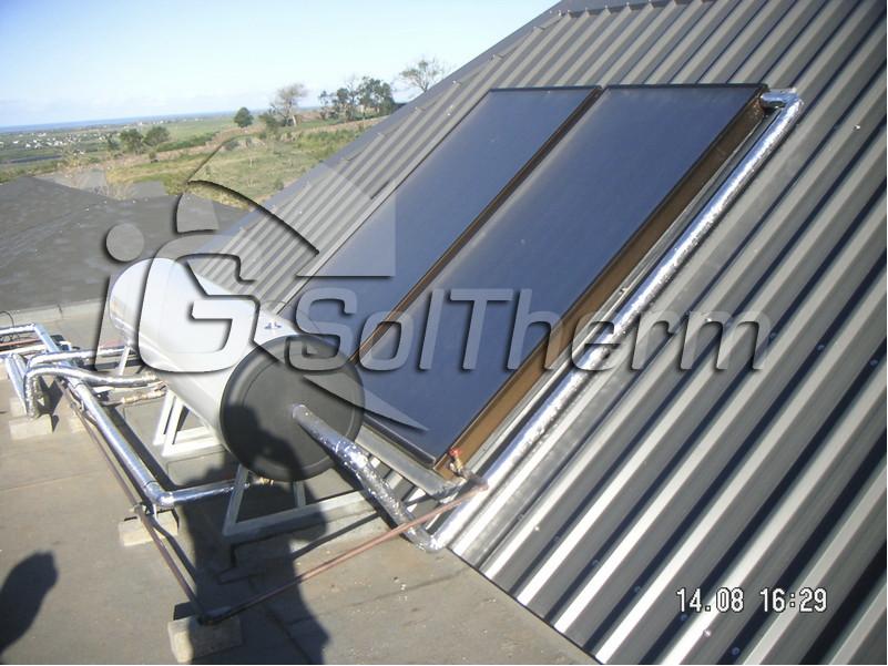 Chauffe-eau Solaire dissocié (ballon solaire horizontal)