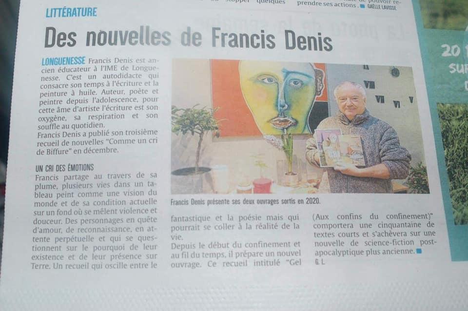 Francis Denis dans la Presse